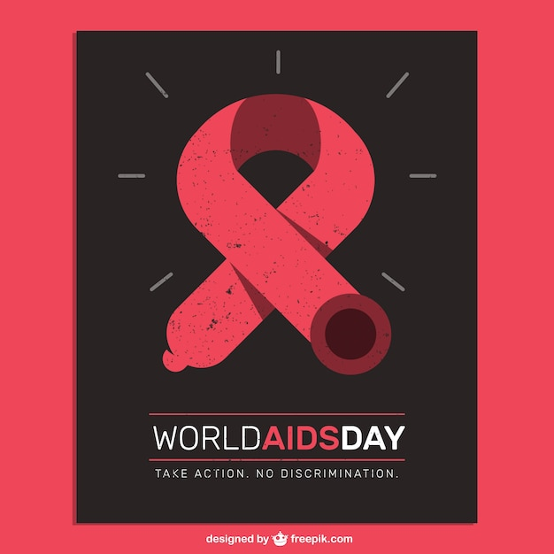 World aids day poster Vector | Free Download