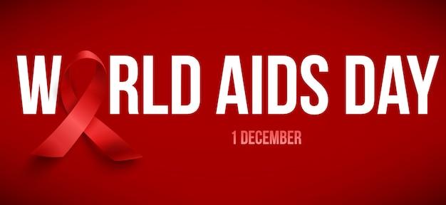 World aids day Premium Vector