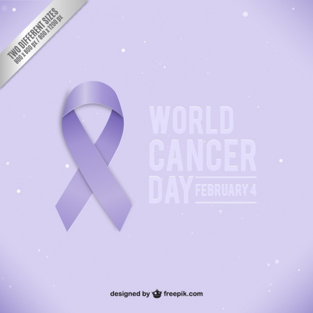 World Cancer Day Ribbon Vector Free Download
