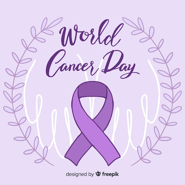 World cancer day Free Vector