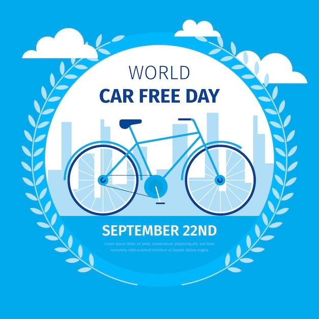 Дизайн бесплатного дня мира Premium векторы