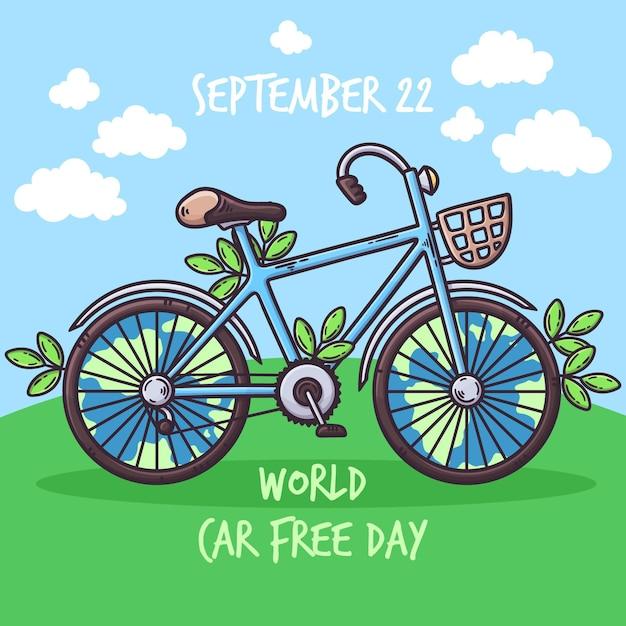Sorteggio giornata mondiale senza auto Vettore gratuito