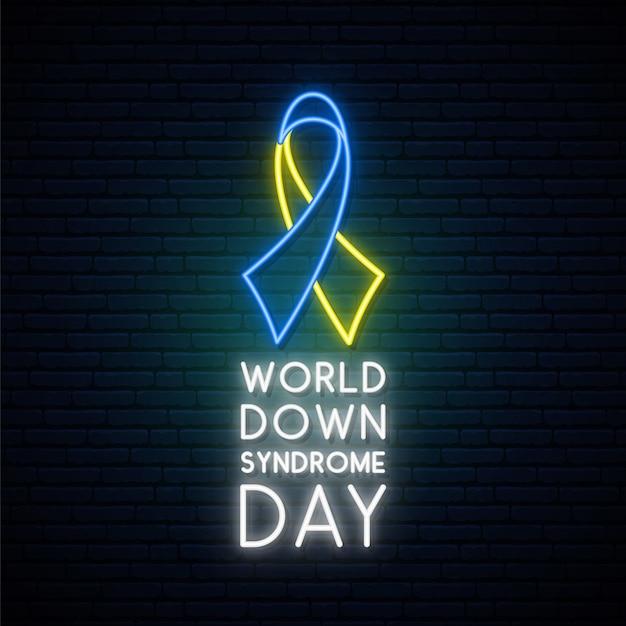 Всемирный день синдрома дауна. Premium векторы