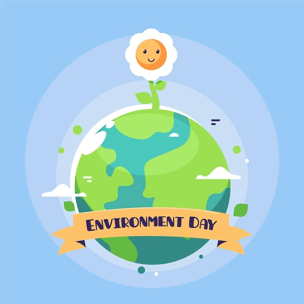 World environment day design Premium Vector