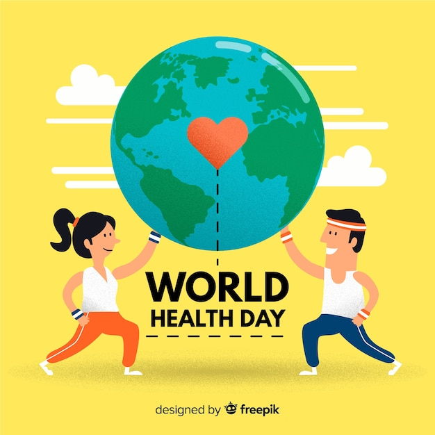 World health day Free Vector