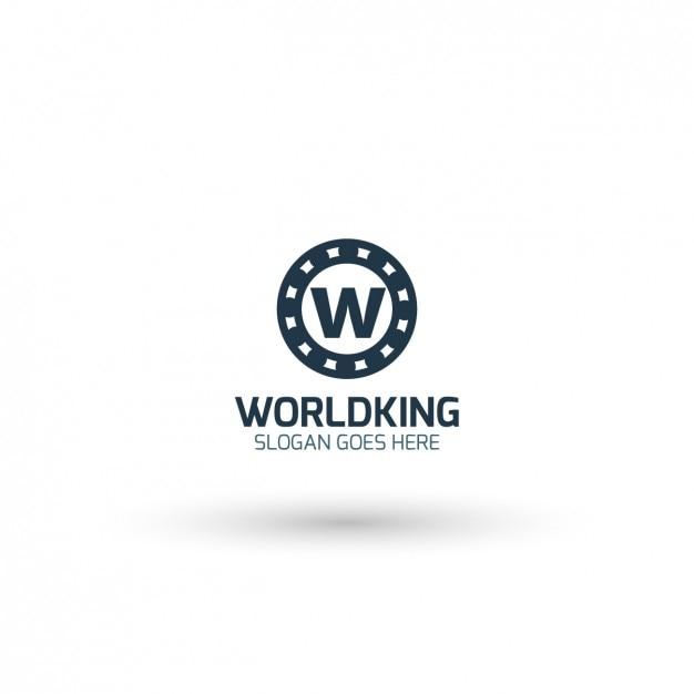 World King Logo Template