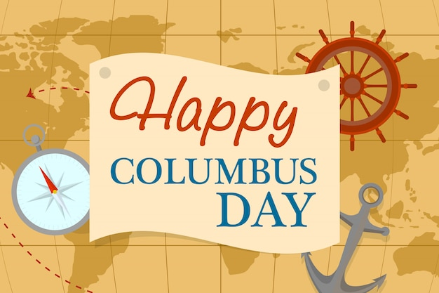 World map columbus day concept , flat style Vector   Premium ... on world map explorers, world map north america, world map 1482, world map high quality, world maps of ancient aliens, world map of venice, world map 1490, world cultural regions map, world trade routes, world map of ancient egypt, palos spain columbus, world map 1300, world map 1700, world map 1492, world map 1500, world map 1914, world map 1400 ad, world map democratic countries, world map columbus time, world map with countries,