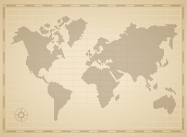 World map concept vector premium download world map concept premium vector gumiabroncs Choice Image
