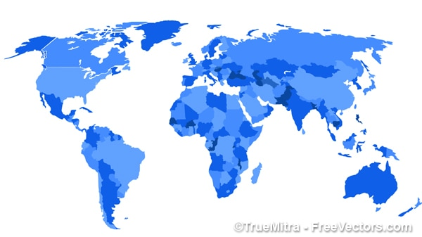 World map illustration vector free download world map illustration free vector gumiabroncs
