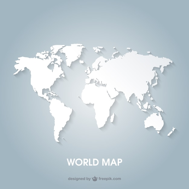 Continents vectors photos and psd files free download world map gumiabroncs Choice Image
