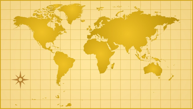 World map Premium Vector