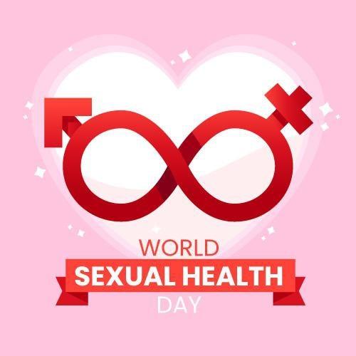 Banner di giornata mondiale della salute sessuale Vettore gratuito