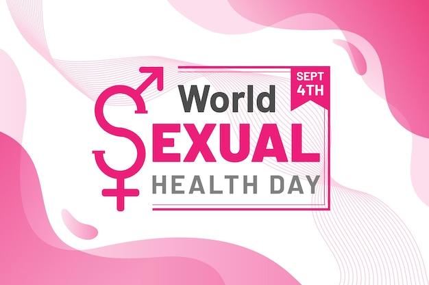 Giornata mondiale della salute sessuale Vettore gratuito