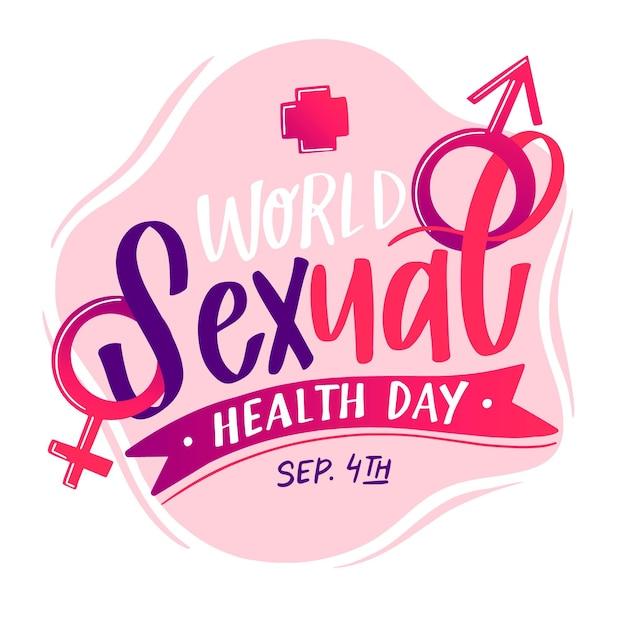 世界の性の健康の日 無料ベクター