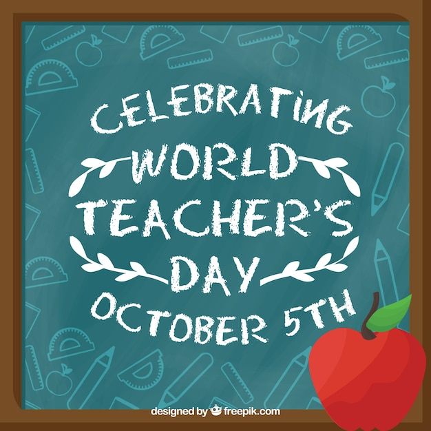 World teacher day celebration