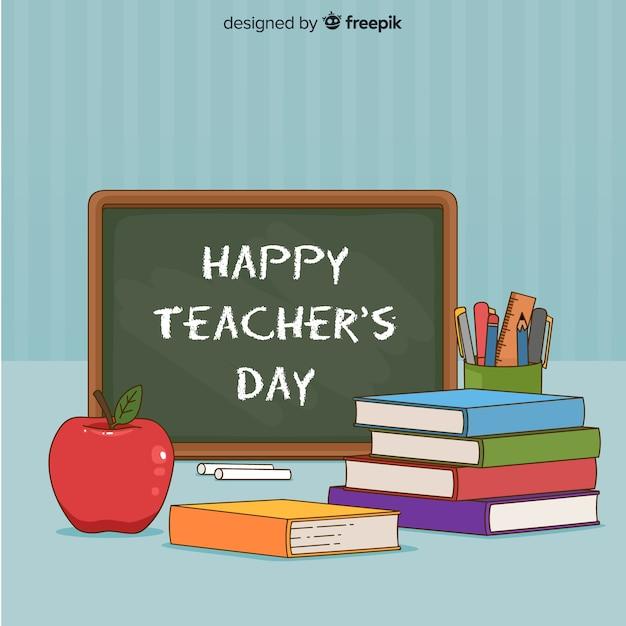 World teachers\' day composition
