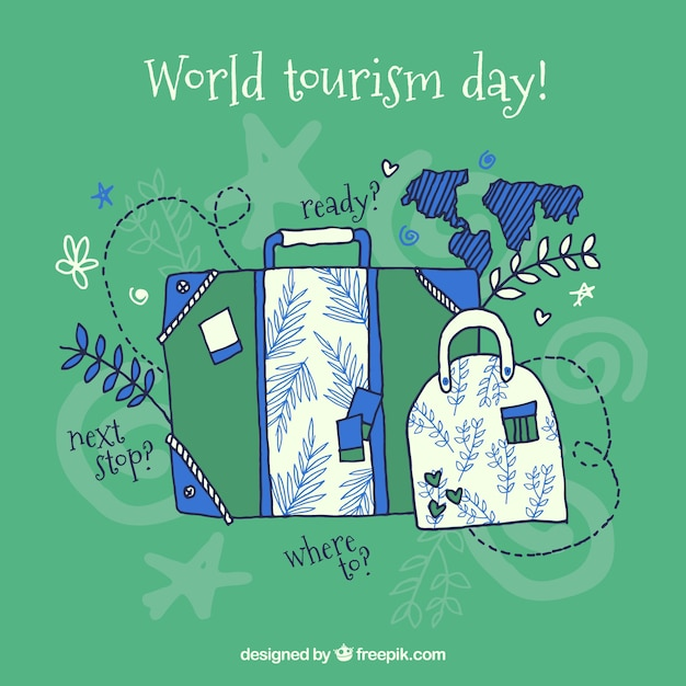 World tourism day, luggage