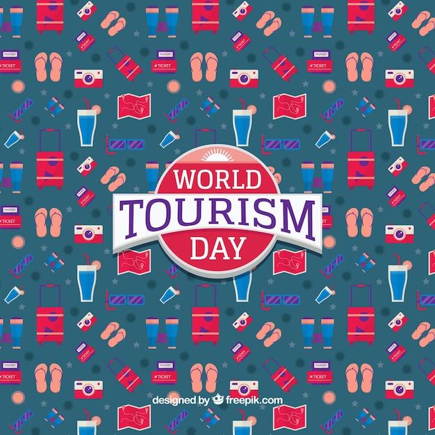 World tourism day, pattern