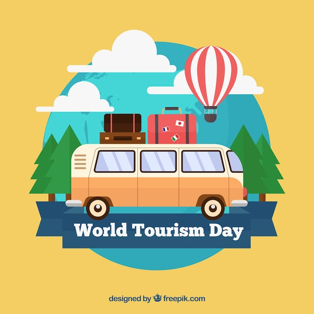 World tourism day, van travel