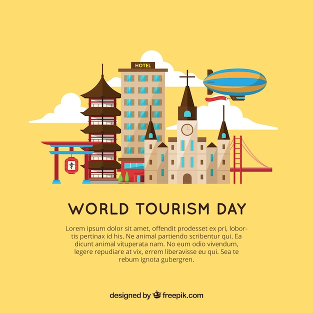 World tourism day, visit different cities
