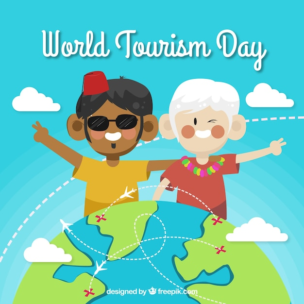 World tourism day, world cultures