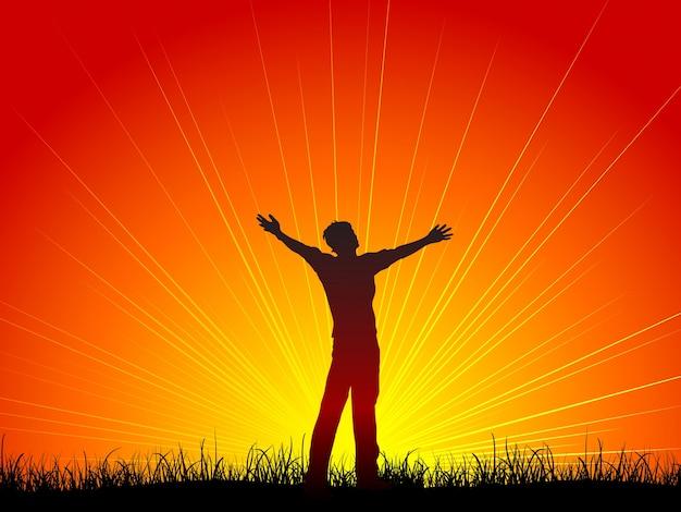 Worship Free Vector