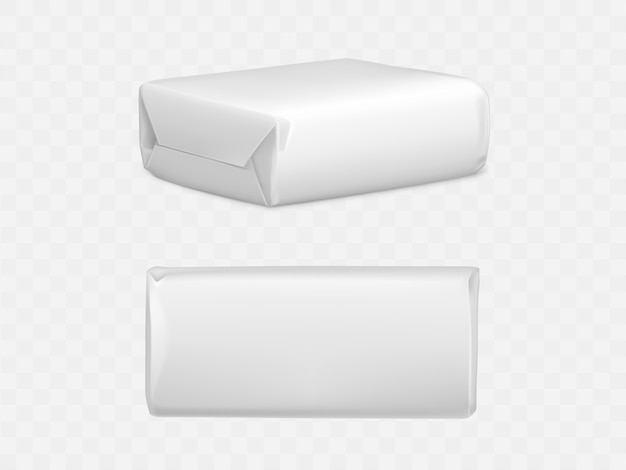Wrapped parcel package box Free Vector