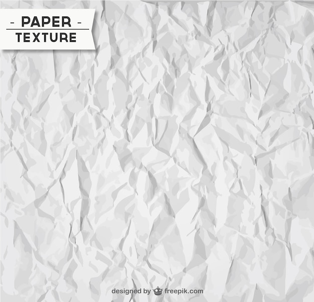Wrinkled paper texture Free Vector