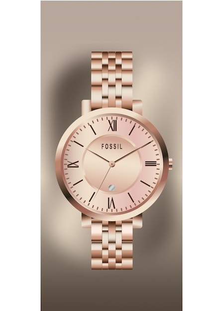 Wrist watch Premium Vector
