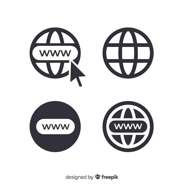 Www icon Free Vector