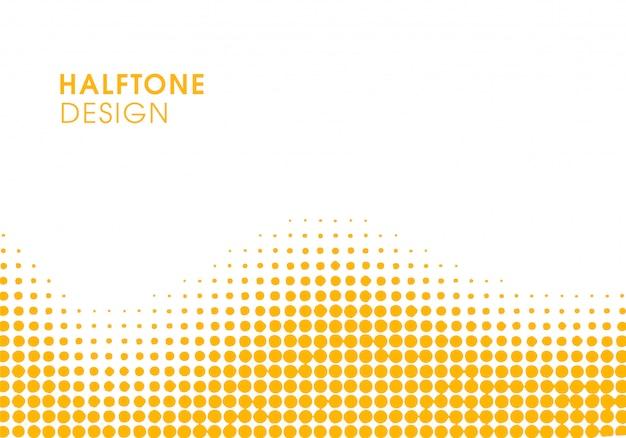 Yellow abstract vibrant background Premium Vector