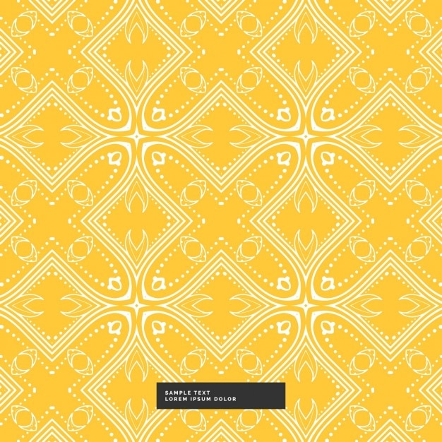 Yellow and white pattern background - photo#18