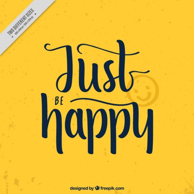 yellow background with motivational quote vector free