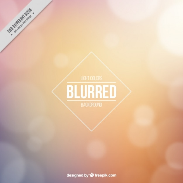 Yellow blurred background   Free Vector