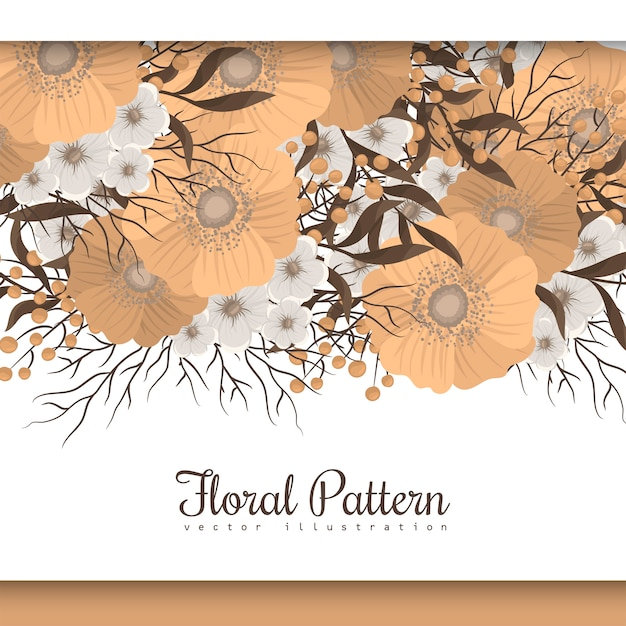 free vector yellow floral background flower border yellow floral background flower border