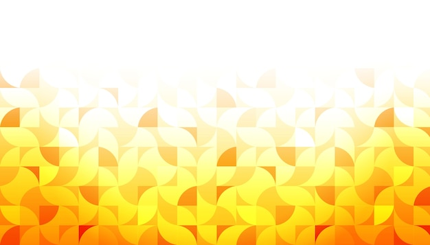 Yellow geometric shape background Free Vector