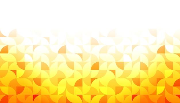 Sfondo giallo forma geometrica Vettore gratuito