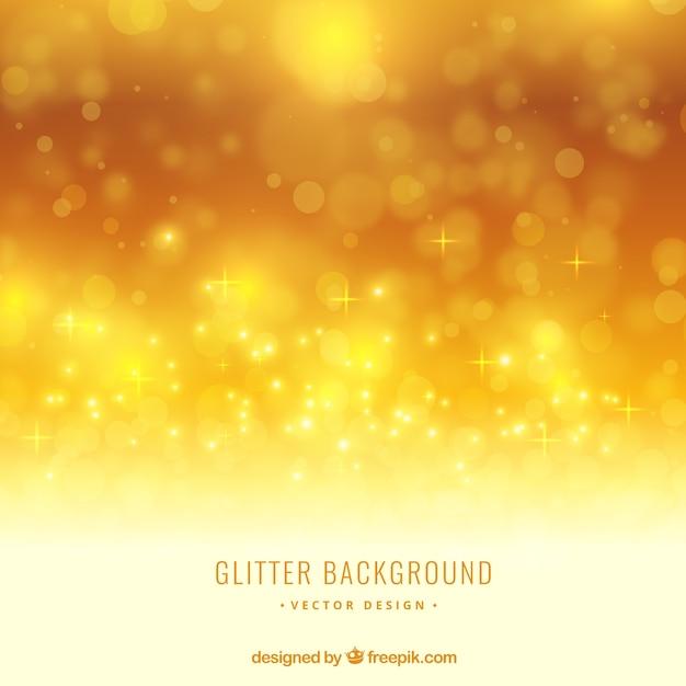 yellow glitter background vector premium download