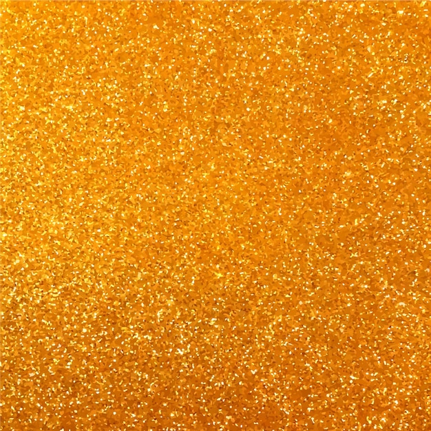Yellow golden glitter background Vector | Free Download