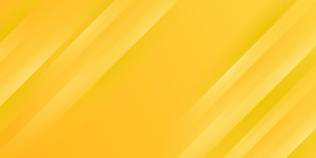 노란색 그라데이션 줄무늬 배경 프리미엄 벡터