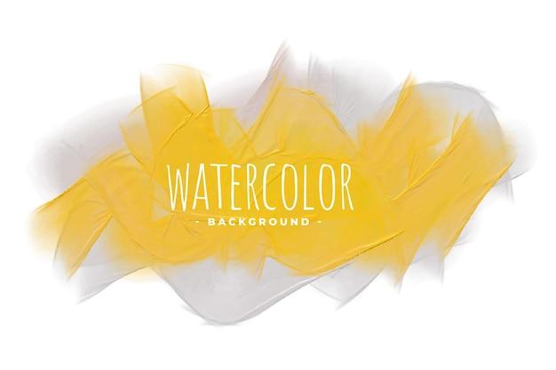 Priorità bassa di struttura dell'acquerello di tonalità giallo e grigio Vettore gratuito
