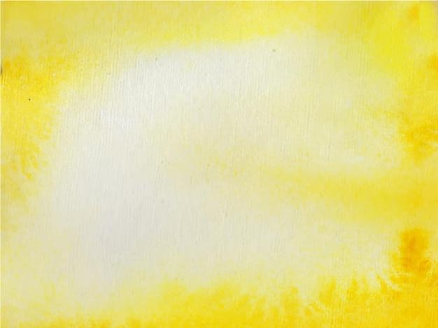 Желтый оранжевый абстрактный акварельный фон для текстур фонов Premium векторы