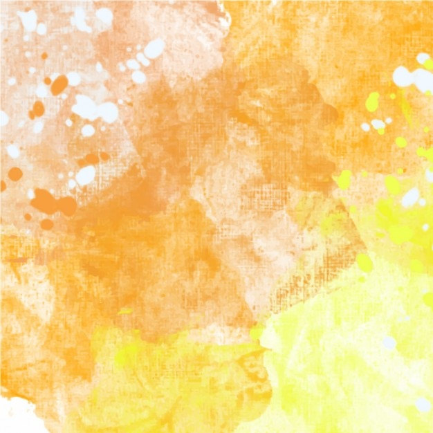 Yellow texture watercolor