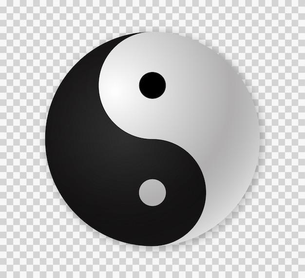Premium Vector Yin Yang Icon