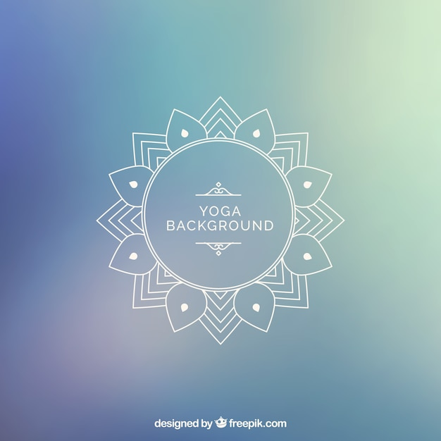 Free Vector Yoga Background