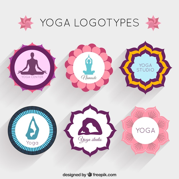 Yoga Logotype Collection