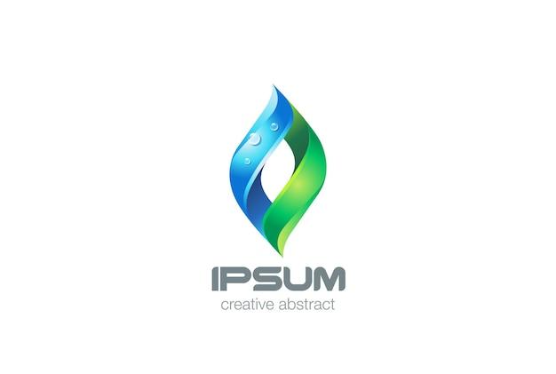 Yoga spa healthcare logo icon. Premium Vector