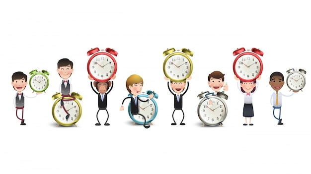 Young Clock Wallpaper Minute Clean Free Vector