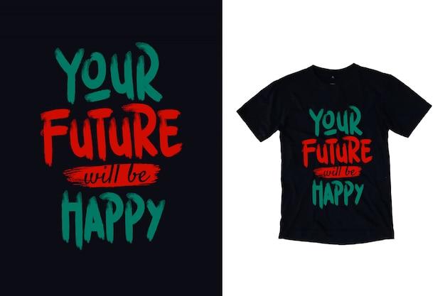 あなたの未来は幸せになります Premiumベクター