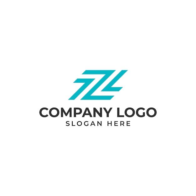 手紙zロゴのテンプレートベクトル Premiumベクター